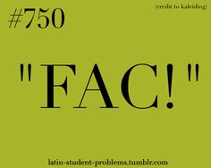 Latin Student Problems