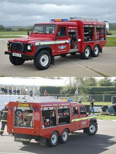 The working Land Rover – Land Rover Classics Rescue Vehicles, Army Vehicles, Ambulance, Old Trucks, Fire Trucks, Land Cruiser, 6x6 Truck, Fire Equipment, Fire Apparatus