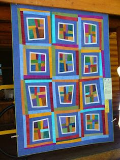 *With Heart and Hands* : Sisters Outdoor Quilt Show: ab-strakt-ed, improvisational, or modern?