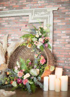 Bohemian Romance Wedding Inspiration   Green Wedding Shoes Wedding Blog   Wedding Trends for Stylish + Creative Brides
