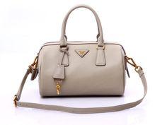 Authentic Handbags in Light Gray Outlet store Prada Purses, Prada Tote, Prada Handbags, Mini Bag, Outlet Store, Gray, Top, Women, Fashion