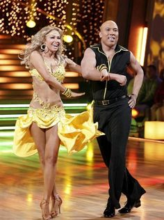 "Kym Johnson and Hines Ward on ""Dancing With the Stars"""