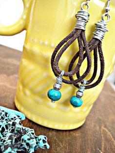Boho Earrings  Boho Jewelry  Hippie Earrings  by HandcraftedYoga, $27.00