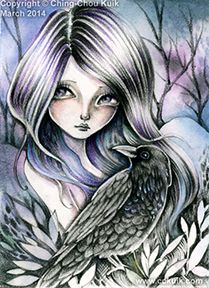 ©ching chou kuik's Midnight Raven- DIGI