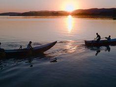 Pesca nel lago Trasimeno