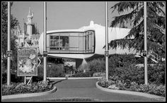 Disneyland 1958 - The Monsanto House of the Future | digefxgrp via Flickr