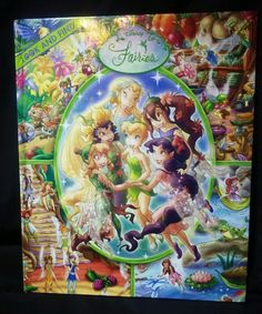 Disney Fairies Look and Find by Publications International Staff 2007 Tinkerbell