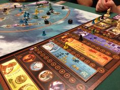 Boardgames; Cyclades; Photographer Tara Green