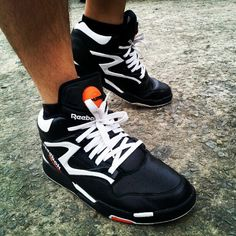reebok pump omni lite on feet