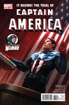 Captain America Vol. 5 # 613 by Marko Djurdjevic
