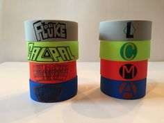 5 Seconds of Summer 5SOS Don't Stop ALL Bracelets by xKateLaurenx THESE ARE SUPER COOL