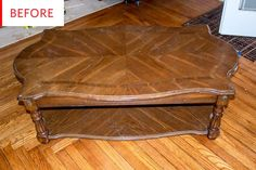 Before & After: This Thrift Store Coffee Table Gets Secret Storage – Diy Thrift Store Crafts