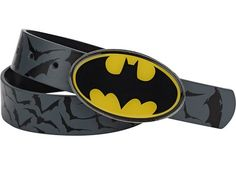 Batman Boys Grey 22-26 inch Belt
