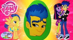 MY LITTLE PONY Giant Play Doh Surprise Egg Flash Sentry FRIENDSHIP GAMES...