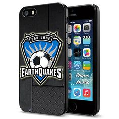 Soccer MLS SAN JOSE EARTHQUAKES SOCCER CLUB FOOTBALL FC Logo, Cool iPhone 5 5s Smartphone Case Cover Collector iphone Black Phoneaholic http://www.amazon.com/dp/B00WPU5Z8U/ref=cm_sw_r_pi_dp_ogUpvb117X8QX