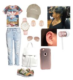 """""""Untitled #88"""" by lavishdi on Polyvore featuring H&M, adidas, adidas Originals, Mansur Gavriel, CLUSE, Kenneth Jay Lane and Beats by Dr. Dre"""