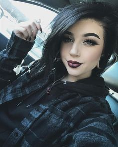 Likes, 89 Comments - Goth Beauty, Beauty Makeup, Hair Beauty, Goth Makeup, Hair Makeup, Eye Makeup, Alternative Makeup, Coloured Girls, Scene Girls