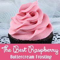 The Best Raspberry Buttercream Frosting