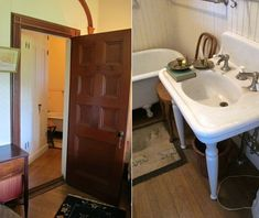 9.23.14 | Big Old Houses: Stanford White Experiments | New York Social Diary | Period bathroom