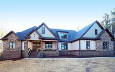 Striking Craftsman with Option for 5 Beds - 36076DK   1st Floor Master Suite, Bonus Room, Butler Walk-in Pantry, CAD Available, Corner Lot, Craftsman, Jack & Jill Bath, Luxury, PDF, Photo Gallery, Premium Collection   Architectural Designs