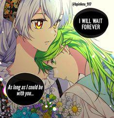 i can wait forever. if you were my partner. Manga Art, Anime Manga, Anime Art, Male Yandere, Midnight Cinderella, Mystic Messenger Fanart, Familia Anime, Romantic Manga, Anime Princess