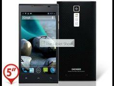 "Doogee DG2014 Turbo 5.0"" 3G Android 4.2 Phablet WiFi Bluetooth GPS Java ..."
