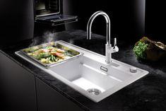 167 best kitchen sinks faucets images kitchen sink faucets rh pinterest com