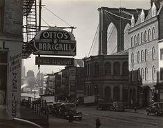 The Brooklyn Bridge, 1941, Edward Weston