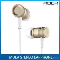 Mula Stereo Earphone Earbuds Sports Small Lightweight Ndfeb Speacker Wire Control In Ear Headphone For Iphone Ipa By Rock Phone Headsets Wireless Phone Headset From Dhiphone, $10.06| Dhgate.Com