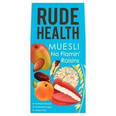 Ocado: Rude Health Muesli No Flamin' Raisins 500g(Product Information)