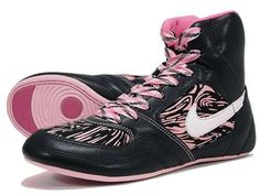 Nike Women's Wrestling Shoe #shoes trendhunter.com. Aren't they adorable.@Melanie Landry my next pair of wrestling shoes! (: