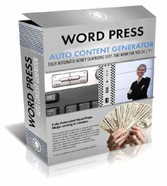 """Content Generator Description: """"Automate Your Blogs"""" Setting up blogs can be such a PAIN in the $# NO ..."""