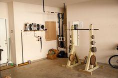 4x4 squat stand   CrossFit Brand X Forum  Garage Gym