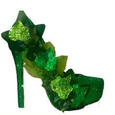 Women s Poison Ivy Green Sparkly Glitter SuperHero Heels costume shoes www. glittershoeco.com Poison. Glitter Shoe Co 99448befb225