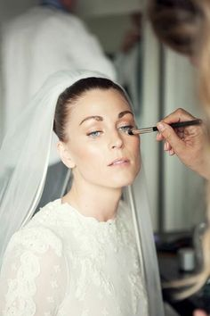 Me as a bride the 27th of June 2015. Wearing H&M Conscious Exclusive dress and Jenny Packham veil.