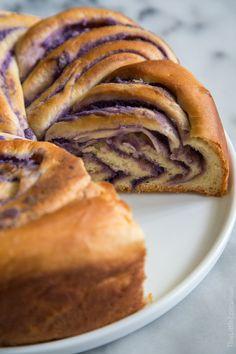 Ube Swirl Bread (Pur