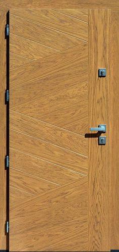 Dębowe wejściowe drzwi zewnętrzne 430,13 winchester