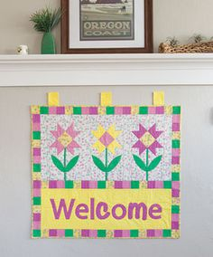 Spring Welcome Wall Hanging Kit