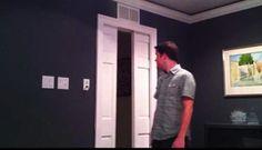 DIY Star-Trek sliding doors. I'll be living on a grounded space ship.