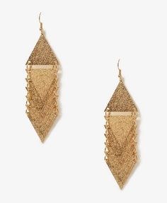 Stacked Triangle Earrings   FOREVER21 - 1044469697