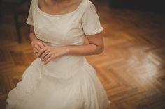 Destination Wedding Photographer // Vintage Wedding Dress