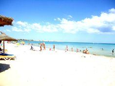 hammamet plage Sidi Bou Said, Santorini, Beaux Villages, Beach, Water, Outdoor, Summer Time, Worldmap, The Beach