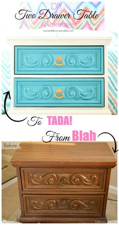 Two Drawer Table Mak