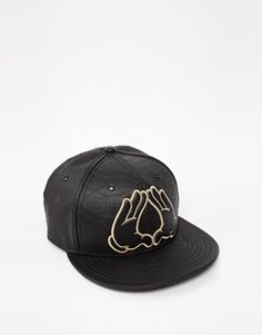 Enlarge Cayler And Sons Flatbush Leather Snapback Cap Leather Snapback f512870f8d1