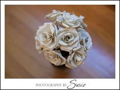 DIY Tutorial: Paper Roses from Books or Sheet Music! | Capitol Romance ~ Practical & Local DC Area Weddings