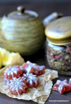 DIY Homemade Hibiscus and Lemon Cough Drops Recipe - All Natural homemade cough drops with a great taste