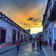 The vibrant streets of San Cristobal De Las Casas, Chiapas, Mexico