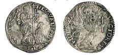 NumisBids: Numismatica Varesi s.a.s. Auction 67, Lot 459 : VENEZIA SILVESTRO VALIER (1694-1700) Mezzo Leone per il Levante,...