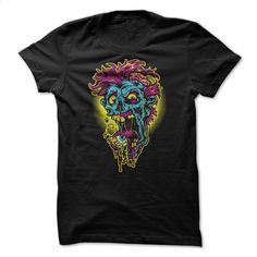 Vibrant Zombie T Shirt, Hoodie, Sweatshirts - t shirt design #teeshirt #T-Shirts