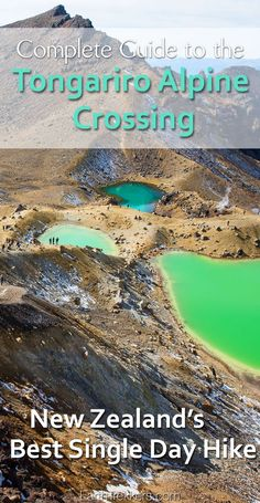 New Zealand's Best Day Hike: Tongariro Alpine Crossing. A complete guide to hiking the Tongariro Crossing.
